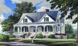 Country Style Home Design Plan: 57-212