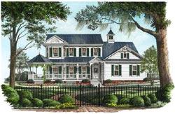 Victorian Style Home Design Plan: 57-215