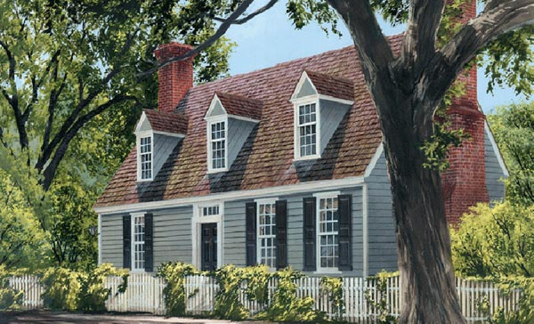 Colonial Style House Plans Plan: 57-220