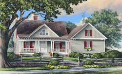 Cottage Style House Plans Plan: 57-226