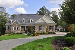 Traditional Style Home Design Plan: 57-229