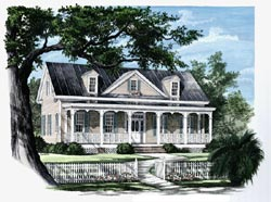 Victorian Style House Plans Plan: 57-233