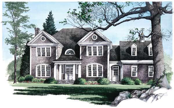 Hampton Style Floor Plans Plan: 57-238