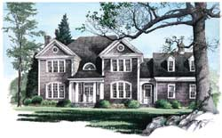Hampton Style Floor Plans Plan: 57-238