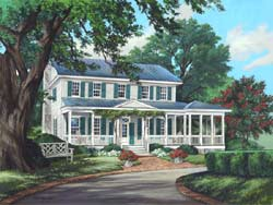 Country Style House Plans Plan: 57-240