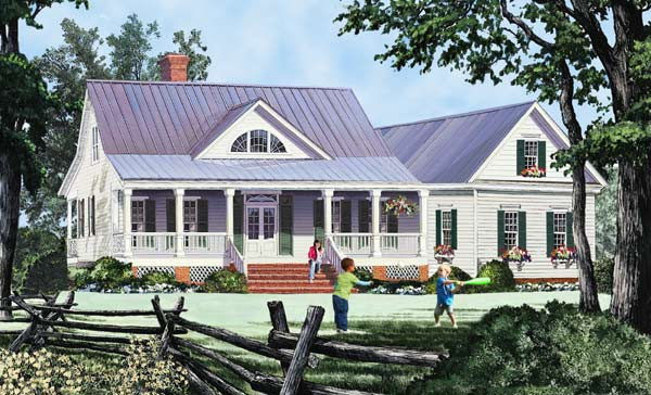 Farm Style Floor Plans Plan: 57-243