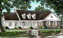 Country Style House Plans Plan: 57-244