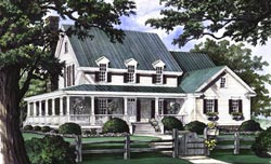 Country Style Floor Plans 57-249