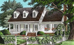 Country Style Floor Plans 57-250
