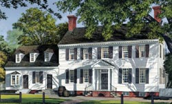 Colonial Style House Plans 57-258