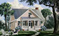 Country Style Floor Plans Plan: 57-261