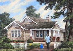 Craftsman Style House Plans Plan: 57-266