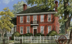 Colonial Style House Plans Plan: 57-272
