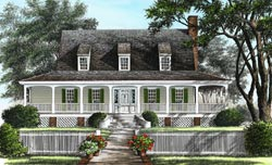 Southern Style Floor Plans 57-275