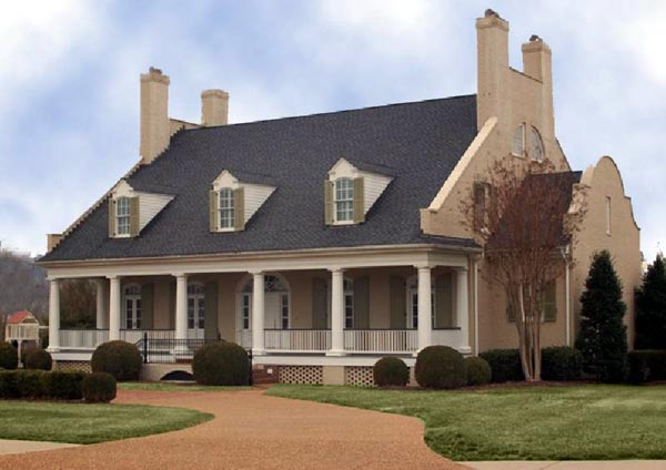 Country Style House Plans Plan: 57-280