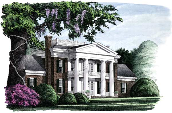 Southern Style House Plans Plan: 57-285