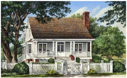 Country Style Floor Plans Plan: 57-296