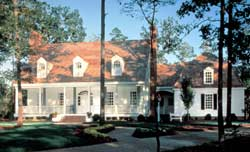 Southern Style Home Design Plan: 57-298