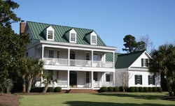 Southern Style Home Design Plan: 57-309