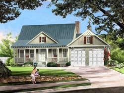 Cottage Style Floor Plans Plan: 57-311