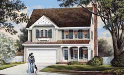 Cottage Style Floor Plans Plan: 57-313