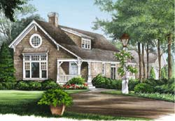 Country Style Floor Plans Plan: 57-322