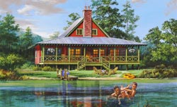Cottage Style House Plans Plan: 57-328