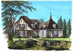 Tudor Style Floor Plans Plan: 57-334