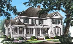 Southern Style House Plans Plan: 57-336