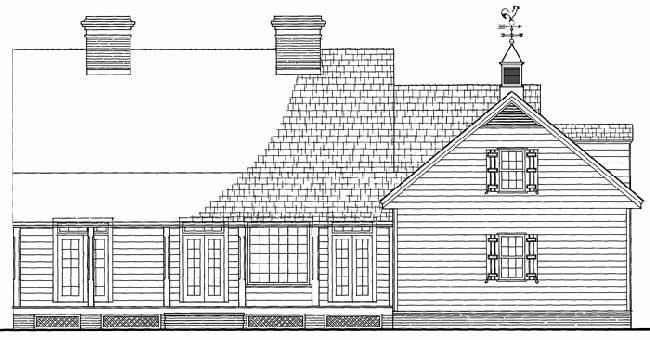 Rear Elevation Plan: 57-347