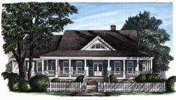 Cape-Cod Style Floor Plans Plan: 57-361