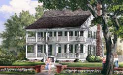 Southern Style Floor Plans Plan: 57-371