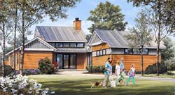 Modern Style House Plans 57-418