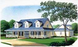 Farm Style Floor Plans Plan: 58-114