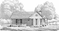 Country Style House Plans Plan: 58-121
