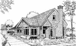 Cottage Style House Plans Plan: 58-147