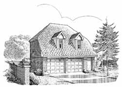 Traditional Style Floor Plans Plan: 58-165
