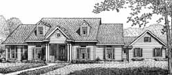 Southern Style Floor Plans Plan: 58-168