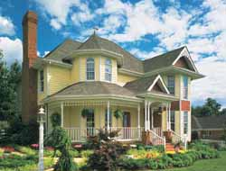 Victorian Style House Plans Plan: 58-169