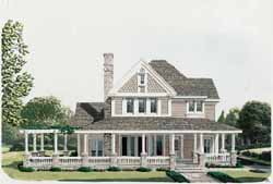 Country Style Floor Plans 58-176