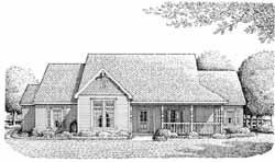 Traditional Style House Plans Plan: 58-187