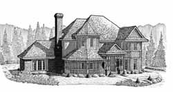 Victorian Style House Plans Plan: 58-192