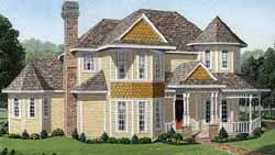 Country Style House Plans Plan: 58-210