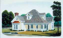 Victorian Style House Plans Plan: 58-212