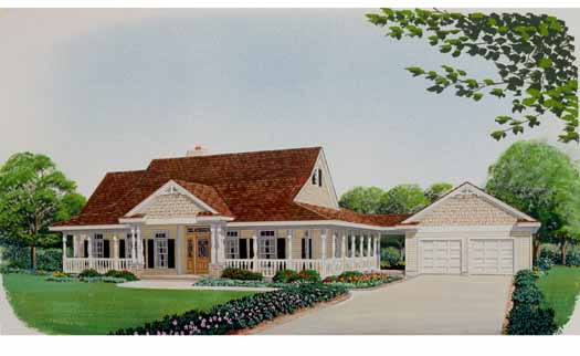 Farm Style Floor Plans Plan: 58-230