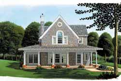 Country Style House Plans Plan: 58-267