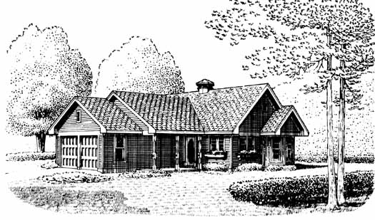 Traditional Style Floor Plans Plan: 58-292