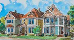 Victorian Style Floor Plans Plan: 58-310