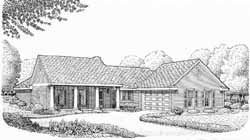 Country Style House Plans Plan: 58-314