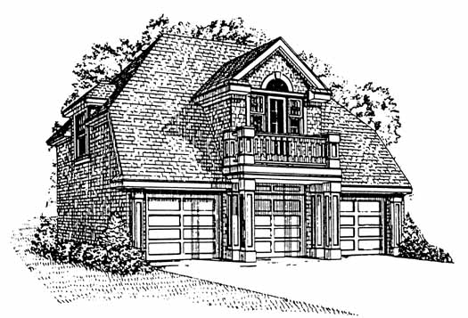 Country Style Floor Plans Plan: 58-316
